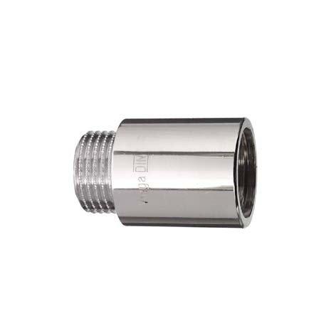 Cornat TEC382404 Hahnverlängerung 1/2 x 50 mm, chrom