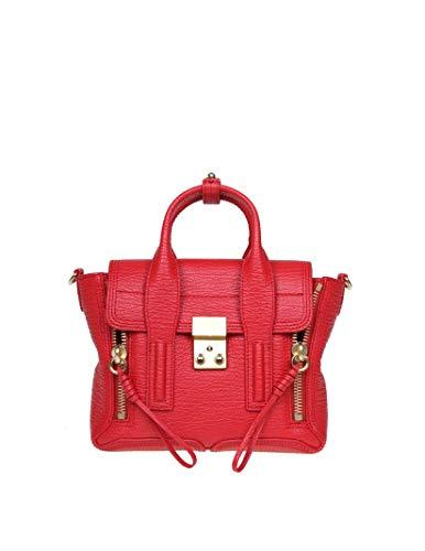 Phillip Lim 3.1 Damen Ac000226skcre600 Rot Leder Handtaschen
