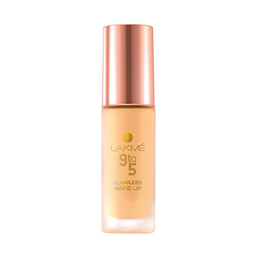 Lakme 9 to 5 Flawless Makeup Foundation, Marble, 30 ml
