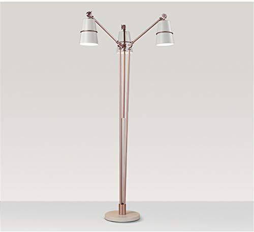 Stehlampe Stehlampe E14 Leselampe Eye-Caring Study Lampen für Wohnzimmer, Schlafzimmer und Büro,White