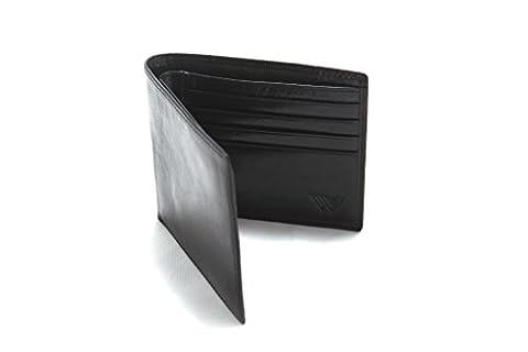 Le Contact A Deja Eu Lieu - Walletech RFID Portefeuille en Cuir Italien pour
