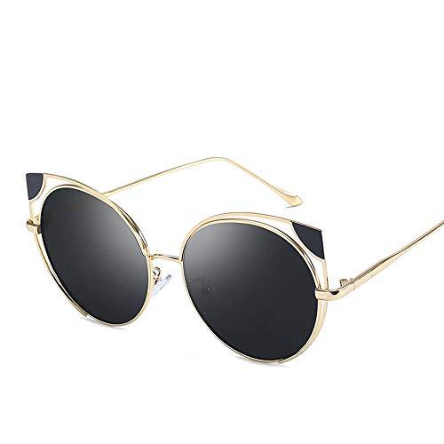 GRAZJ Männer Frauen Leichte übergroße Sonnenbrille - Verspiegelte polarisierte Linse Vintage Classic Designer Brillen UV400 Schutz Wayfarer Eyewear (Ausgabe : Style A)