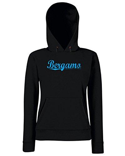 T-Shirtshock - Sweats a capuche Femme TSTEM0140 bergamo vintage Noir