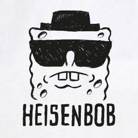 Heisenbob - Stofftasche / Beutel Blau