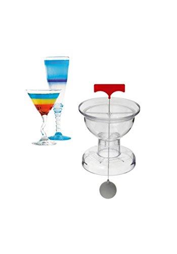 LOUIS TELLIER - Cocktail Master Transparent - Réalisez vos Cocktail à Étages Simplement - Marque Française