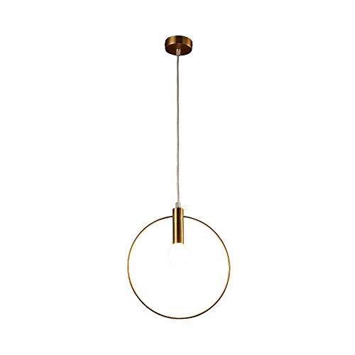 gold-circle-pendant-lighting-modern-simple-creative-iron-ceiling-light-plating