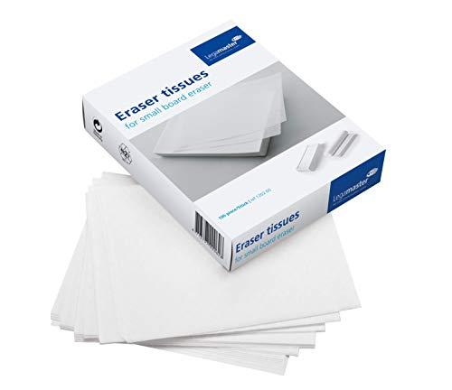 Legamaster 7-120200 Löschpapier zum Nachfüllen des Kleinen Whiteboard-Löschers, 100 Blatt, 13,7 x 16,5 cm