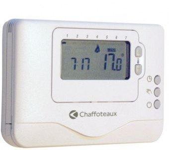 Chaffoteaux 3318601-Chronothermostat d'ambiance contrôle facile