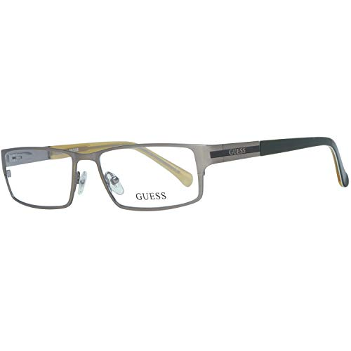 Guess Herren Brille Gu1787 J14 53 Brillengestelle, Silber,