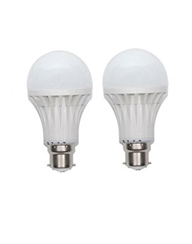Inddus 3W Base B22 LED Bulb (white) Pack Of 2  available at amazon for Rs.175