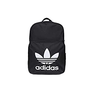 31Zo4g4h68L. SS300 adidas Classic Trefoil Uomo Backpack Nero