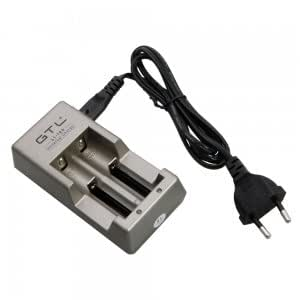 GTL MP-847A 4.2V DC 400mAh Universal EU Plug Li-ion Battery Charger with Charging Cable