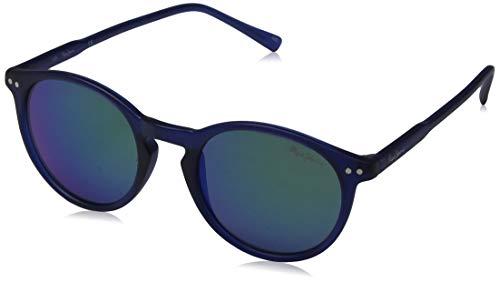 Pepe Jeans Herren Mateo Sonnenbrille, Blau (Blue/Grey), 48.0