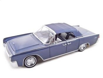 1961 Lincoln Continental Dark Blue 1/18 by