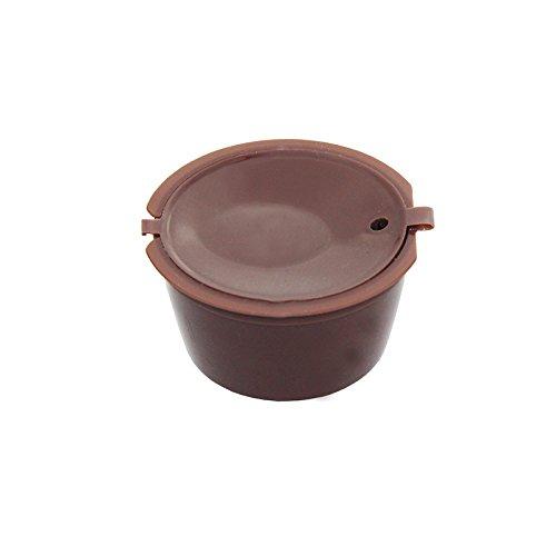 Nachfüllbar Kaffee Kapsel wiederverwendbar Filter für Nescafe Dolce Gusto System 3Pack - 2