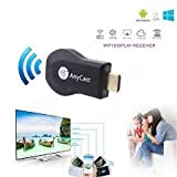 MOBOSTER AnyCast 1080P WiFi Wireless Mini Display Receiver Dongle HDMI TV Miracast DLNA Airplay for IOS Apple iPhone iPad Android Smartphone Windows Mac