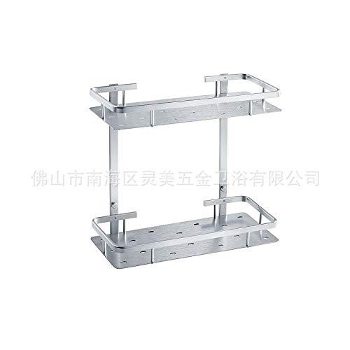 QOETIRT Papierhandtuchhalter Space Aluminium Badaccessoires Bad Badezimmerschrank Space Aluminium Badaccessoires Hardware A122 Eisengrau Gebürstet -