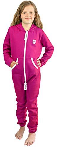 Jumpsuit Overall Jogger Trainingsanzug Mädchen Anzug Jungen Onesie,pink,4-5 Jahre ()