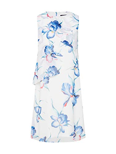 comma Damen 8T.905.82.8517 Kleid Mehrfarbig Floral Print 01c3, (Herstellergröße: 40) -