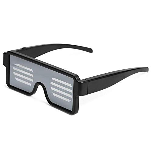 mimagogy Sparkle LED Bunte Glow-Partei-Verein Flashing Sonnenbrille-Glas-Licht-Partei