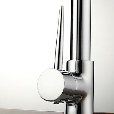 Küchenarmaturen Küchenarmatur Zeitgenössisch Vorspülung/Mit ausziehbarer Brause Messing Chrom -
