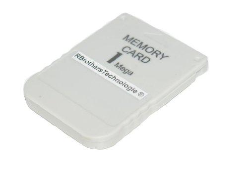 1MB Memory Card Speicherkarte f. PS1 Playstation 1 PSX Konsole - RBrothersTechnologie