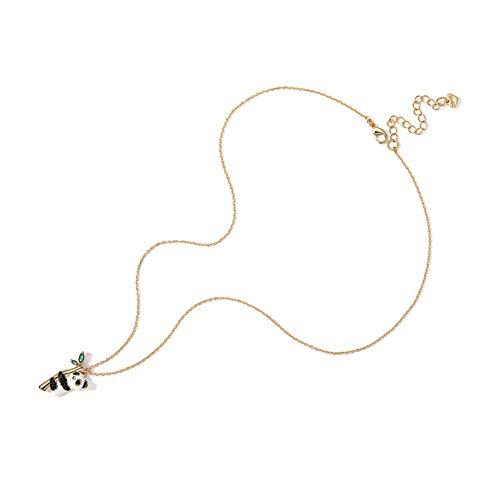 Haoyu collana di panda di design di nicchia collana femminile pendente catena di clavicola maglione catena corta nazionale marea accessori