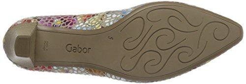 Gabor Shoes 65.14, Scarpe con Tacco Donna Multicolore (silk 42)