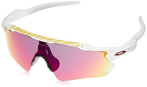 Oakley Herren Radar Ev Path 920850 38 Sonnenbrille, Weiß (Matte White/Prizmroad)
