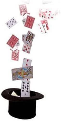 SOLOMAGIA Card Fountain - Stage Magic - - - Tours et Magie Magique - Magic Tricks and Props 6b4f0b