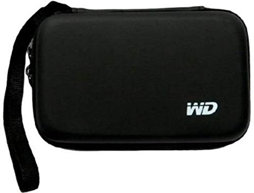 M Mod Con WD Shockproof External Hard Drive Case Bag Pouch Cover for 2.5-Inch PNY 120 GB Wired External Solid State Drive (Black)