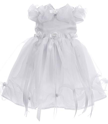 Ausverkauf Kleid Babykleid Taufkleid Festkleid Bolero Jacke Mädchen Baby Taufe Taufjacke Cinderella 74 (Kommunion Cinderella Kleider)