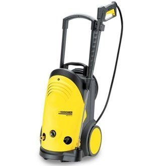 Karcher Cold Water Pressure Washer. (Compact, lightweight with upright design with retractable handle allows user to adjust height to suit and saving space in storage.Great for drive ways, patios and cars)From Winware by Karcher