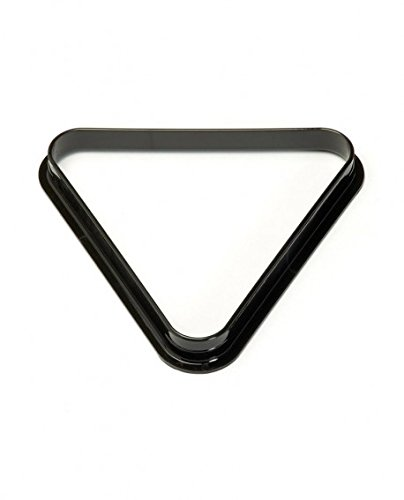 Triangle de billard Noir - 57.2 mm, Noir