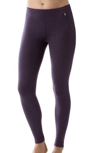 Smartwool Damen Lange Unterhose Midweight, deep purple heather, XS - Smartwool Lange Unterhosen