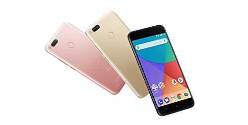 Xiaomi MI A1 5.5' 4GB/64GB Doble Sim, Con Google Play [Version Europea] Blanco/Oro