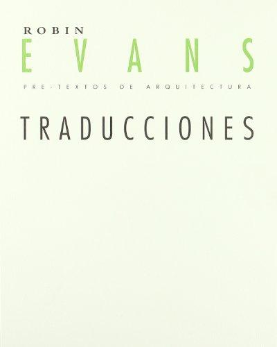 Traducciones (Pre-Textos de Arquitectura)