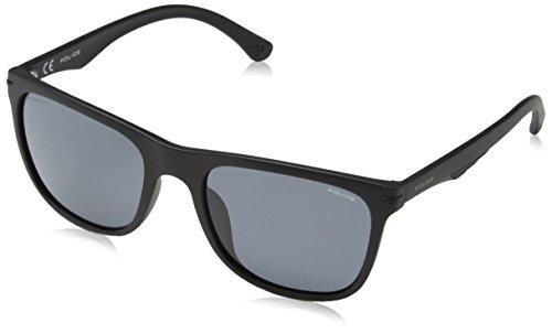 Police Herren Blackbird Light 2 Sonnenbrille, Schwarz (Black/Grey), 55.0