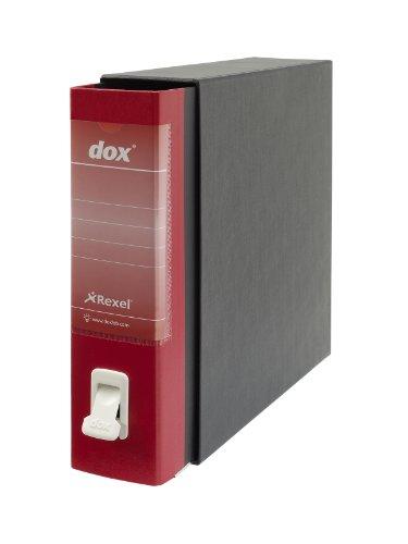 Rexel Dox Aktenordner DIN A4 Inhalt 1 Rot