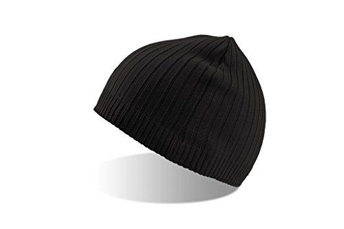 Elastische Baumwoll-Mütze   Atlantis   Coast   (0525), Farbe:black;Größe:onesize