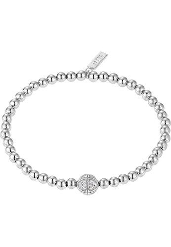 JETTE Silver Damen-Armband 925er Silber 48 Zirkonia One Size, silber