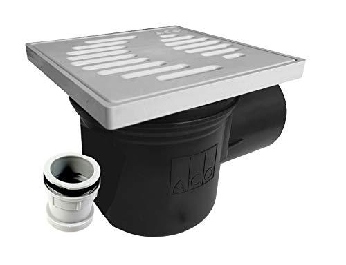 ACO Kellerablauf 310054 DN100 Bodenablauf Ablauf mit Geruchsverschluß + Zulaufstutzen -