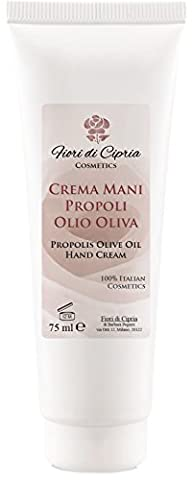 Propolis and Olive Oil Hand Repair Cream - Has Antiseptic, Protective And Healing Properties Fast (Pelle Secca Crema Idratante Mano)