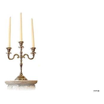 kerzenleuchter marylin kerzenst nder mit glasaufsatz. Black Bedroom Furniture Sets. Home Design Ideas