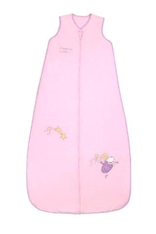 Schlummersack Kinder Ganzjahres Schlafsack 2.5 Tog - Pink Fairy - 150 cm/6-10 Jahre