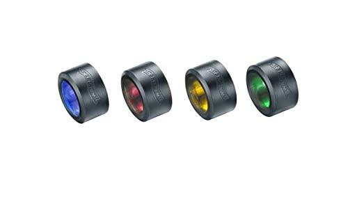 Walther 3.7082.3 PRO Zubehör Farbfilter Set für PL70(r) PL80, Mehrfarbig