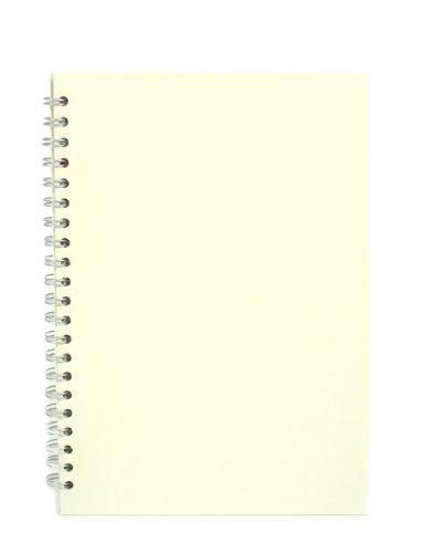 Elfenbein Flaches Blatt (Pink Pig elfenbein A4 Skizzenbuch 150gsm säurefrei weißes Papier 70 Seiten (35 Blätter))
