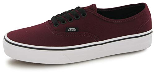 Vans U Authentic VQER5U8 (Port Royale/Black) Gr. 42 (US 9) - Herren-leinwand-tennis-schuhe