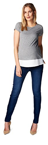 Esprit Maternity Vêtements de grossesse T-shirt Medium Grey