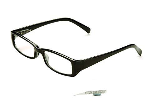 Eyelevel Lesen/Lesebrillen Brille CAINE 1.25 bis + 3,50 - Schwarz, 1.5